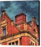 Dublin House Roof Top Canvas Print by Juli Scalzi