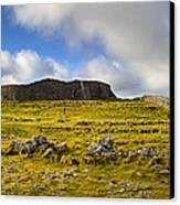 Dun Aengus - Ancient Irish History Canvas Print by Mark E Tisdale
