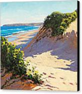 Dunes Central Coast Canvas Print by Graham Gercken