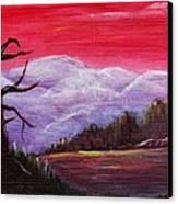 Dusk Canvas Print by Anastasiya Malakhova