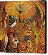 Dynamic Oriental Canvas Print by Ricardo Chavez-Mendez