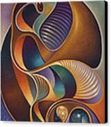 Dynamic Series #23 Canvas Print by Ricardo Chavez-Mendez