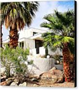 E. Stewart Williams Home Palm Springs Canvas Print by William Dey