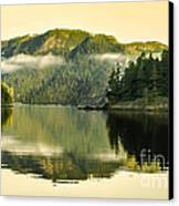 Early Morning Reflections Canvas Print by Robert Bales