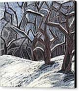 Early Snow Canvas Print by Grace Keown