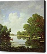 Early Summer Afternoon Canvas Print by Pierre Etienne Theodore Rousseau