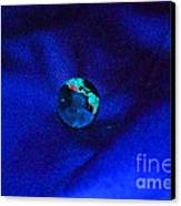 Earth Alone Canvas Print by First Star Art