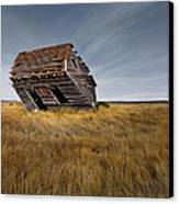 East Montana Texture Canvas Print by Leland D Howard