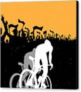 Eat Sleep Ride Repeat Canvas Print by Sassan Filsoof
