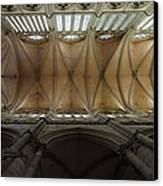 Ecclesiastical Ceiling No. 1 Canvas Print by Joe Bonita