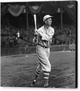 Eddie Collins Sr. Swing Pre Game Canvas Print by Retro Images Archive