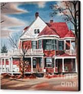 Edgar Home Canvas Print by Kip DeVore