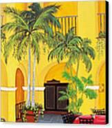 El Convento In Old San Juan Canvas Print by Gloria E Barreto-Rodriguez