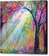 Elation Canvas Print by Ann Marie Bone