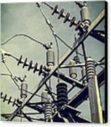 Electricity Canvas Print by Edward Fielding
