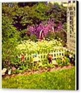 Elna's Garden 2 Canvas Print by Donna Munro