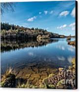 Elsi Reservoir Canvas Print by Adrian Evans