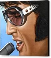 Elvis 24 1970 Canvas Print by Rob De Vries