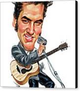 Elvis Presley Canvas Print by Art
