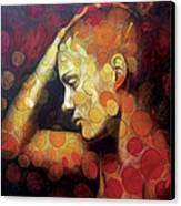 Emotions Canvas Print by Karina Llergo