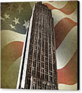 Empire State Building Canvas Print by Mark Rogan