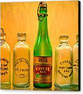 Empties Canvas Print by James Barber