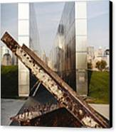 Empty Sky New Jersey September 11th Memorial Canvas Print by George Oze