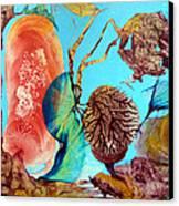 Ernsthaftes Spiel Im Innerem Erdteil Canvas Print by Otto Rapp
