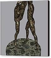erotic acrobatics 3EA 1 Canvas Print by Pemaro