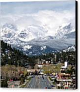 Estes Park In The Spring Canvas Print by Tranquil Light  Photography
