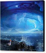 Etherstorm Canvas Print by Philip Straub