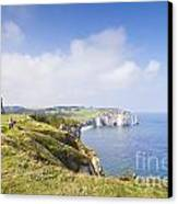 Etretat Canvas Print by Colin and Linda McKie