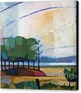 Evening Landscape Canvas Print by Lutz Baar