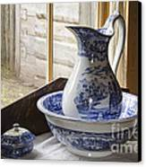 Ewer And Basin Canvas Print by Michael DeFreitas