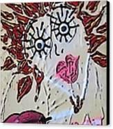 Eye Smoke Discrimination  Canvas Print by Lisa Piper Menkin Stegeman