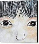 Eyes Of Love Canvas Print by Eloise Schneider