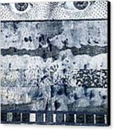 Eyes On Seven Canvas Print by Carol Leigh