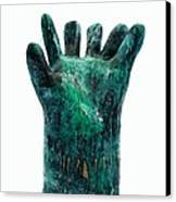 Fabulas Malachite Hand Canvas Print by Mark M  Mellon