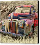 Fabulous Ford Canvas Print by Robert Jensen