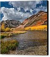 Fall At North Lake Canvas Print by Cat Connor