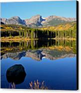 Fall At Sprague Lake Canvas Print by Tranquil Light  Photography
