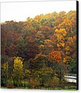 Fall At Valley Forge Canvas Print by Skip Willits