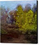 Fall Color Canvas Print by Dwayne Gresham