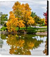 Fall Fort Collins-2 Canvas Print by Baywest Imaging