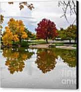 Fall Fort Collins Canvas Print by Baywest Imaging
