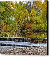Falls Fall-2 Canvas Print by Baywest Imaging