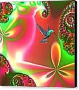 Fantasia Landscape Canvas Print by Sharon Lisa Clarke