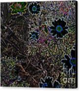 Fantasy Garden No. 1 Canvas Print by Cathy Peterson