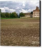 Farm Castle Canvas Print by Olivier Le Queinec