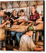 Farm - Farmer - By The Pound Canvas Print by Mike Savad
